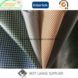 Polyester Men′s Jacket Classic Check Lining Fabric Manufaturer