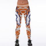Amazon Hot Sale 3D Digital Printing Sport Gym Pants Clothes Leggings 2039