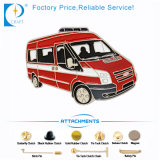 Fire Truck Pin Badge in Red for Souvenir in Low Price