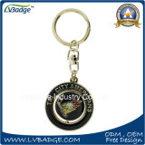 Custom Round Shaped Rotate Metal Key Holder