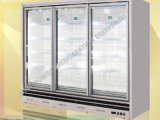 Commercial Soft Drink Upright Display Glass Door Cooler with Digital Controller