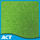 Lime Green Artificial Grass for Cricket Court Strong Base