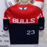 T1201 Autumn Winter Sweater Korean Style Kids Wear Pure Cotton Double-Layer Boys Baby Knitted Shirt for Wholesale