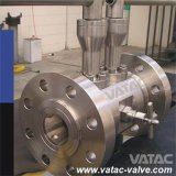 Forged Steel Double Block and Bleed Dbb Ball Valve with Flange or Thread Ends