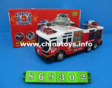 Friction Toy Fire Fighting Truck Car with Light&Music (869302)