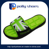 2017 New Beach Fashion Green Color Funny Slippers Men