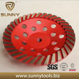 "Metal Bond 4"" Turbo Diamond Grinding Wheel for Concrete"