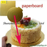 Customzied Useful Mini with Gold Color Cake Plate with FDA, SGS (B&C-K046)