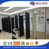 Four LED Lights Walk Through Metal Detector AT-300B archway Metal Detector for Airport Use