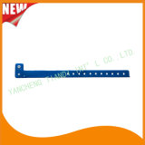 Entertainment Custom Plastic Vinyl Festival Evens ID Bracelets Wristbands (E60706)