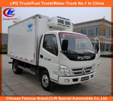 Foton 4*2 Refrigerated Cooling Van Truck 1.5tons for Sale