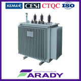 Oil Immersed Silicon Iron Core 167kVA 3 Phase Power Transformer