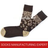Men′s Colorful of Organic Cotton Sock