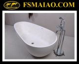 New Fashion Solid Surface Freestanding Bathtub (BS-8608)