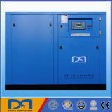 22kw 30kw Stationary Industrial Rotary Screw Air Compressor with Air Dryer
