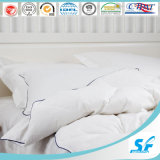 Cheap White Plain Feather Down Alternative King Size Comforter Quilt