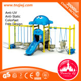 Children Park Toys Swing and Slide Outdoor Playground