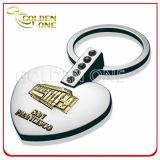 Custom 3D Relief Logo Souvenir Gift Metal Key Chain