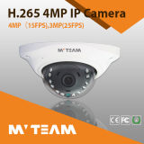 H. 265 4MP Vandal Proof Indoor IR Metal IP Dome Camera