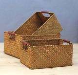 (BC-ST1065) High Quality Handmade Straw Basket