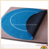 Nice Price Printed Ruber Round Shaped Poker Mat, Table Mat