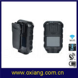 Small Portable GPS GPRS Police DVR Camera with Standard H. 264 Zp610