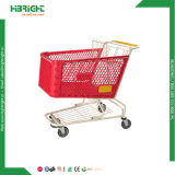 American Style 180L Plastic Shopping Cart Trolley