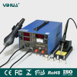 Yihua853D 2A 3in1 Hot Air Soldering Rework Station with DC Power Supply