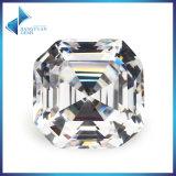Lab Created Emerald Cut CZ Aaaaa Square Cubic Zircon Gemstone
