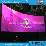 Most Popular Indoor P3.91 P4.81 500*500mm Rental Curve LED Display for Stage/Events