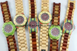 Custom Fashion Handmade Wooden Watch with Wood Face