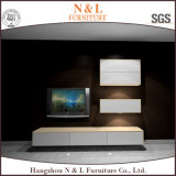Wooden MFC TV Table in Living Room Furniture Cabinet