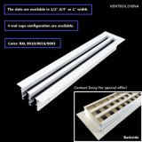 Ventilation Aluminum Sidewall Return Linear Slot Diffuser