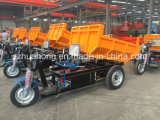 Electric Tricycle, 3 Wheel Motorcycle for Carring Ore, Stone, Cargo, Mining Tricycle