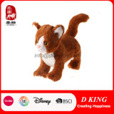 Real Simulation Soft Plush Standing Cat Stuffed Animal Toy
