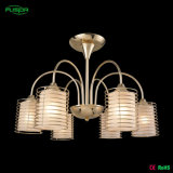 Indoor Lighting Iron Chandelier Lamp for Hotel