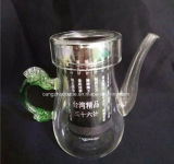 Customized Crystal Glass Teapot