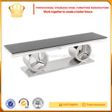 Stainless Steel Furniture Sj916 Modern Living Room Furniture TV Stand Table