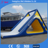 Summer Popular Giant Inflatable Water Slide Floating Slide for Sale