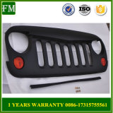 Matte Black Angry Bird Face Upper Grille Shell for Jeep Wrangler