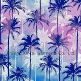 80%Polyamide 20%Elastane Palm Printing Fabric for Bikini