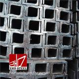 14A# Q235, Q345 GB Standard Steel U Channel Hot Rolled/Galvanized