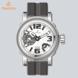 Stainless Steel Waterproof Wristband Fashion Sport Quartz Men Watch72367