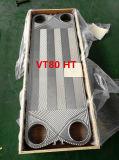 Replacement Gea/Kelvion Heat Exchanger Plate Vt80 Ss304 Ss316L Titanium Material