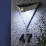 Stainless Steel Solar Outdoor Wall Sensor Light
