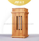 Natural Retro Design Carbonized Bamboo Wine Packaging Gift Box