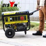 Bison (China) 6000W 6kVA Key Start Ce Approved Factory Price Portable Gasoline Generator 3 Phase 6kw Power Supply