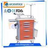 ABS Hospital Cart Medical Emergency Trolley Nursing Cabinet