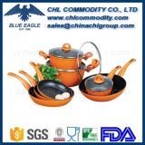 Dishwasher Safe 12 Piece Nonstick Aluminum Cookware Set