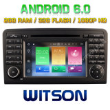 Witson Octa-Core (Eight Core) Android 6.0 Car DVD for Mercedes-Benz Ml 320 2g ROM 1080P Touch Screen 32GB ROM